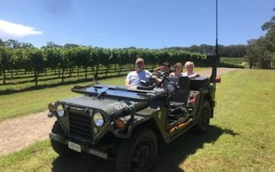 Military Vehicle Vineyard Tours